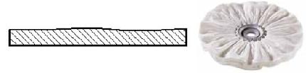 Powierzchnia po polerowaniu na wysoki połysk